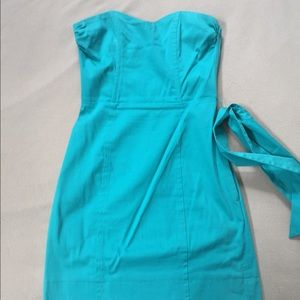 Turquoise H&M cocktail dress